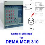 Sample Project and Settings for DEMA MCR 310
