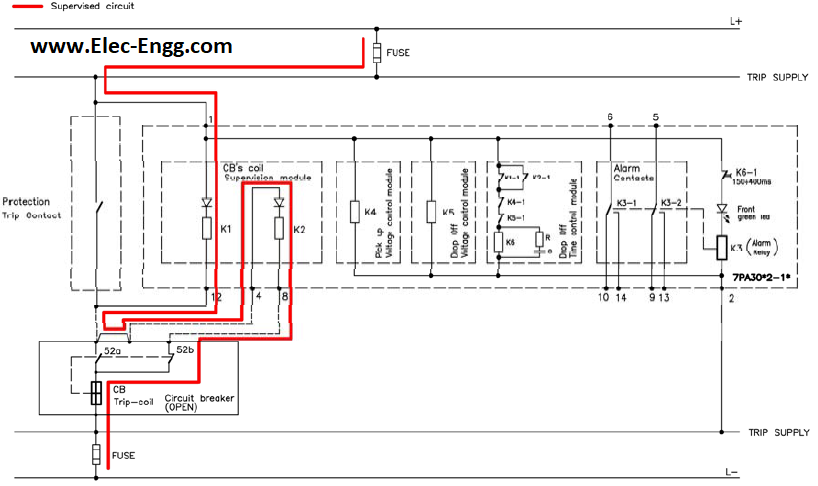 TCS relay 7PA30-SIEMENS – Electrical Engineering