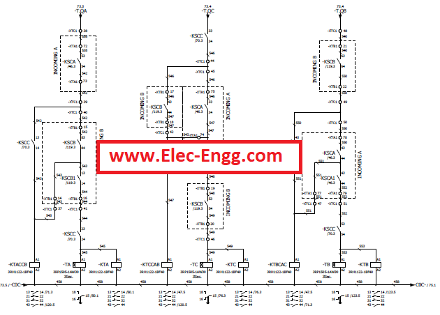 Siemens electrical engineering incoming coupling wiring termination diagram case study 11kv fandeluxe Gallery