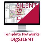 Template networks in Digsilent to test the transient state