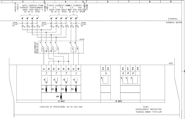 Substation 23033 kV Diagrams     Electrical Engineering