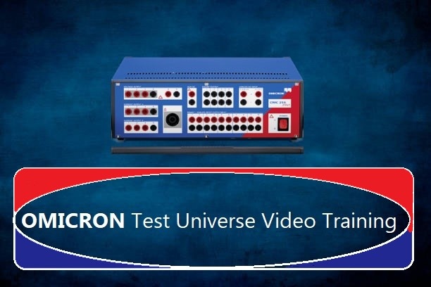 OMICRON Test Universe Video Training