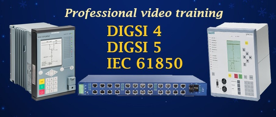 Professional video training pack (DIGSI 4, DIGSI 5 & IEC 61850)
